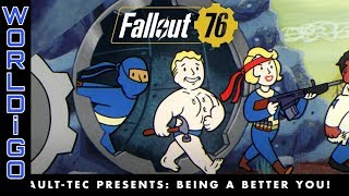 PS4 and Xbox one | Fallout 76 – Vault-Tec Presents: Being a Better You! Perks Video