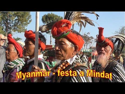 Myanmar (Birmania) - Mindat Festival Nel Chin State Con Kipling Tour