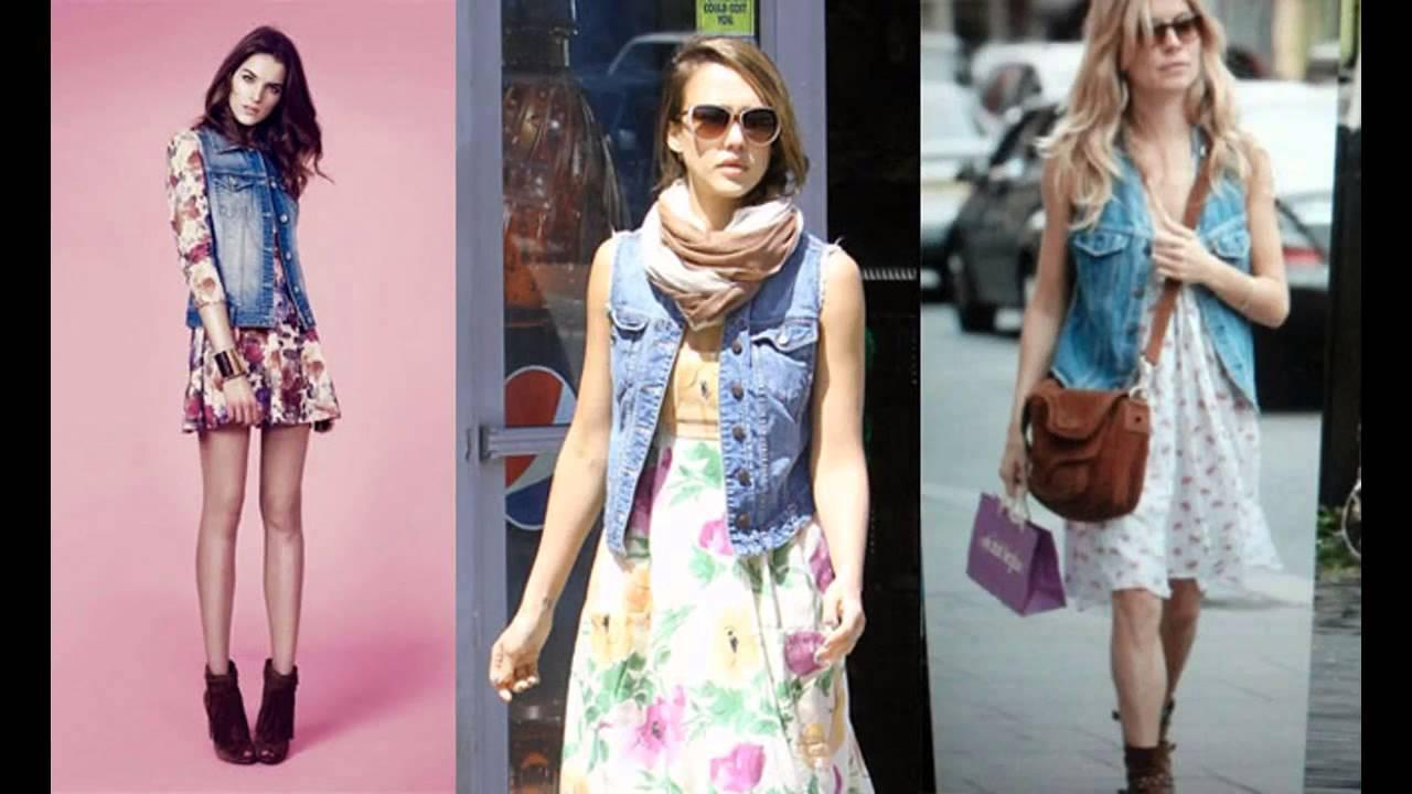 Outfits con chalecos de mezclilla - YouTube 8e5f1f7a1851