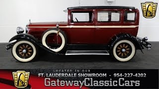 1929 Hudson Super Six - Gateway Classic Cars of Ft Lauderdale Stock #243