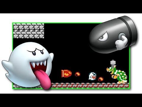 Bullet Bill & Boo Bros.? Super Mario Bros. Rom Hack