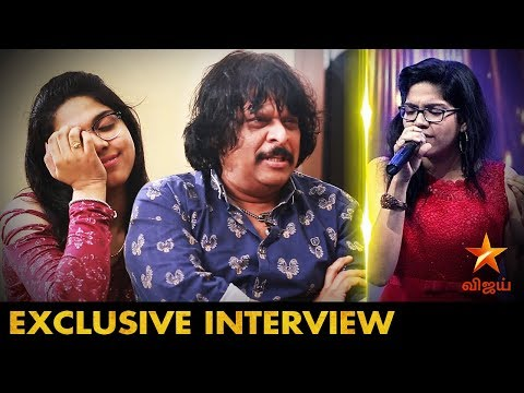 அப்பா பெயரை Use பண்ண கூடாது | Vijay Tv Super Singer 6 Malavika & VeenaPlayerRajheshVaidhya Interview