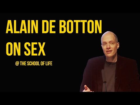 Alain de Botton on Sex