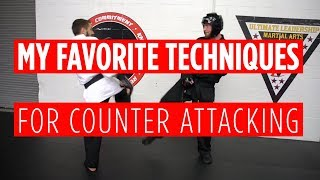 Favorite Counter Attacks in Point Sparring