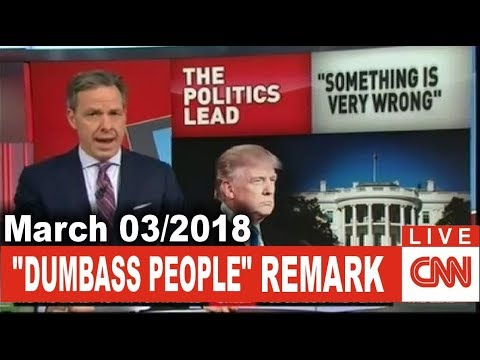 CNN Live | THE LEAD JAKE TAPPER (March 03/2018) TRUMP KELLY FULL