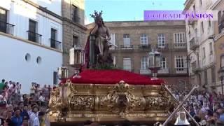 Cristo de la Humildad y Paciencia (Caña) (San Roque) por Santo Domingo (Via Crucis Diocesano 2018)
