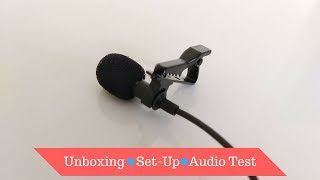 [Hindi]New Mic😎!-Generic Lapel Mic for Smartphones//Unboxing and Audio Test!