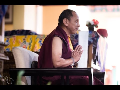 March 14a - Khenpo Tsering Samdrup - Dependent Origination 2/2 (lost audio at end)