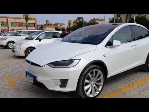 أول تجمع لمالكى السيارات الكهربائية فى مصر ...