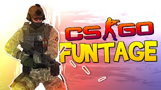 CS:GO FUNTAGE! - Dolphin Dive, Tactical Shooter & Stories with SP00N! (CS:GO Funny Moments)