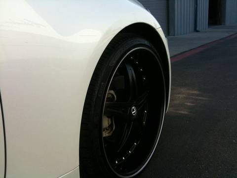 lexus is 250 tires 2009