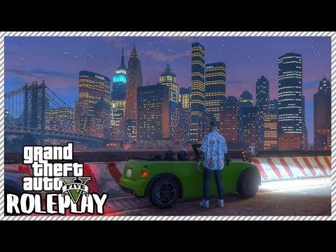GTA 5 ROLEPLAY - Exploring Liberty City   Ep. 280 Civ