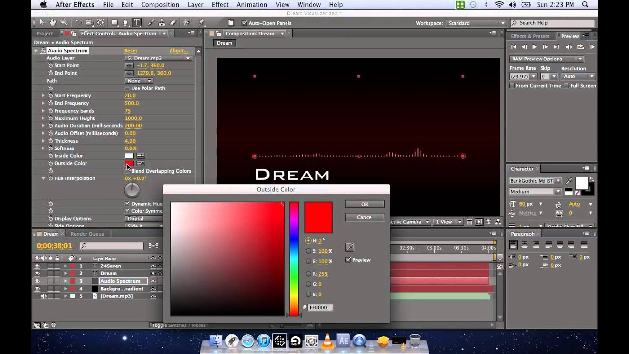 Adobe after effects equalizer visualizer tutorial free for How to use adobe after effects templates