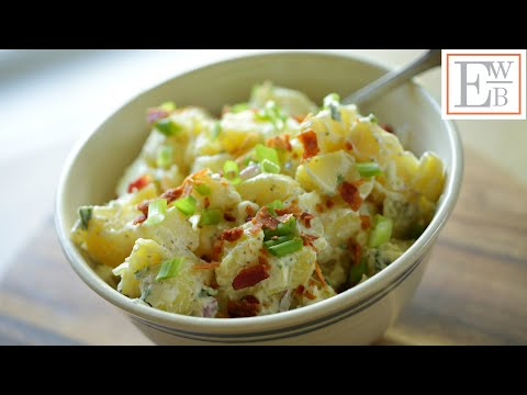 Potato Salad With And Without Mayonnaise