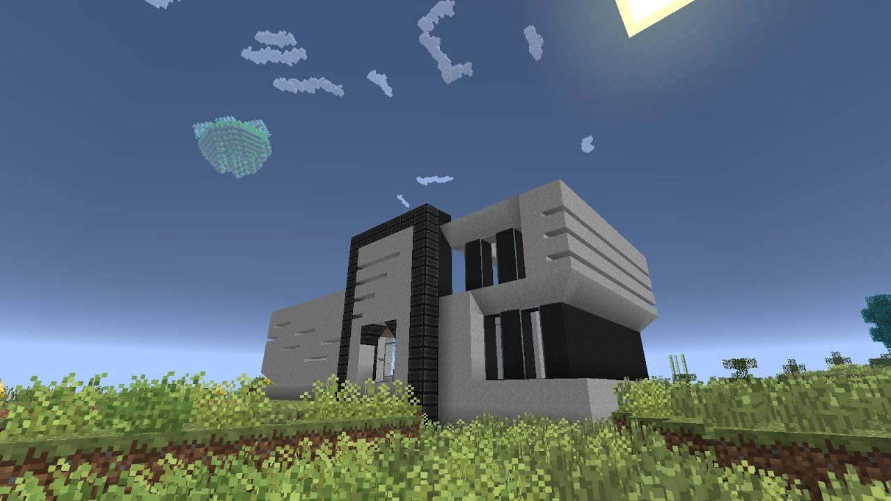 Minecraft AoBT Mod Pack EP06 Start of the modern house YouTube