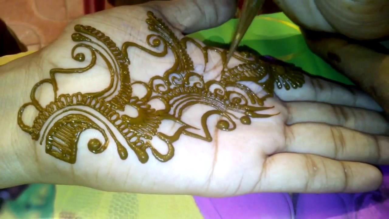Mehndi Design Easy And Beautiful Images Arabic