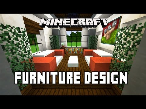 minecraft-tutorial:-how-to-make-living-room-furniture-(modern-house-build-ep.-20)