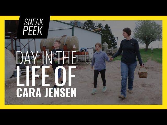 Sneak Peek: Day in the Life of Cara Jensen