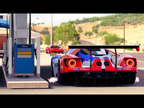 Generate Forza Horizon 3 Ford GT Le Mans Racing Gameplay HD 1080p Screenshots