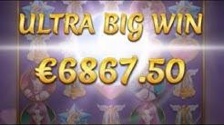 Ultra Big Win 6,867€ (686x) on Moon Princess Slots - 10€ Bet