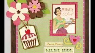 Cookbook Scrapbook Ideas