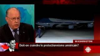 Gérald Fillion - Entrevue Bernard Landry