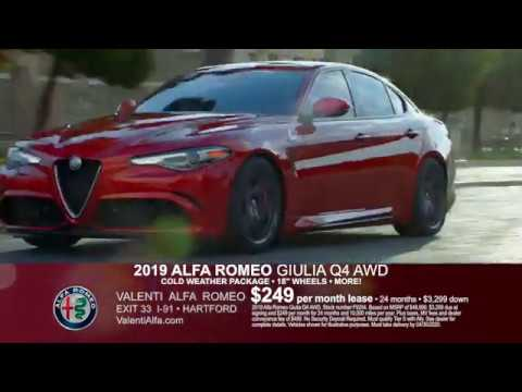 valenti alfa romeo drive forward sales event hartford ct youtube youtube