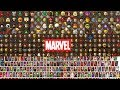 ALL Marvel Characters in Lego Videogames! (Including all DLCs)