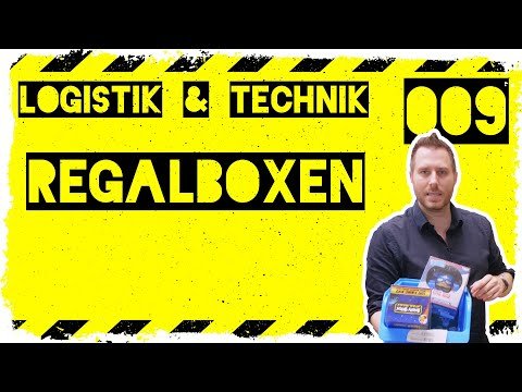 logistik&technik #009: Nutzung von Regalboxen - Warum macht es Sinn Regalboxen zu nutzen