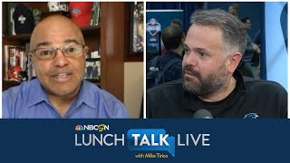 How Carolina Panthers coach Matt Rhule is embracing virtual offseason | Lunch Talk Live | NBC Sports