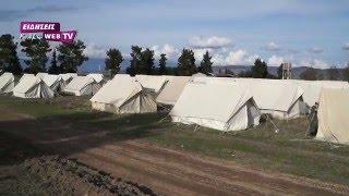 Εκατοντάδες σκηνές στο Κέντρο Προσφύγων στο Χέρσο-Eidisis.gr webTV