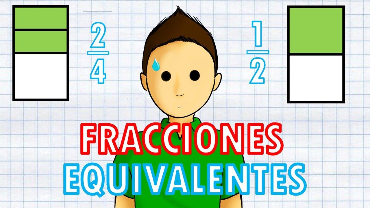 Fracciones Equivalentes Super Facil