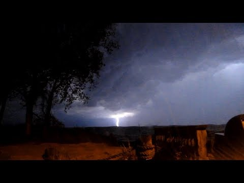 Supercell Thunderstorms Over Lake Michigan! - May 20-21, 2014, South Haven, MI