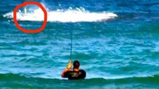EXTREME Shark Fishing on Crowded Beach