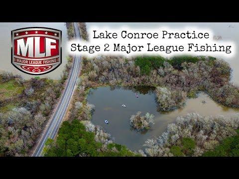 Major League Fishing Pro Tour Lake Conroe Texas Practice