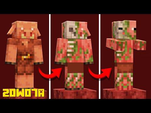 Minecraft 1.16 Snapshot 20w07a - 25 Updates You MISSED