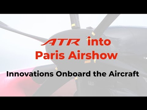ATR Bourget 2019 D3 - Innovations Onboard the Aircraft