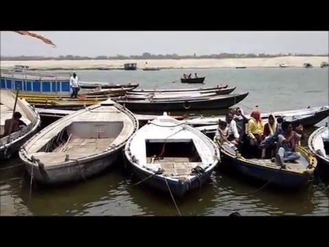 北インド 一人旅 @バラナシ ガンガーの対岸 不浄の地へ North India Alone Trip Go Opposite Shore Of Ganges River