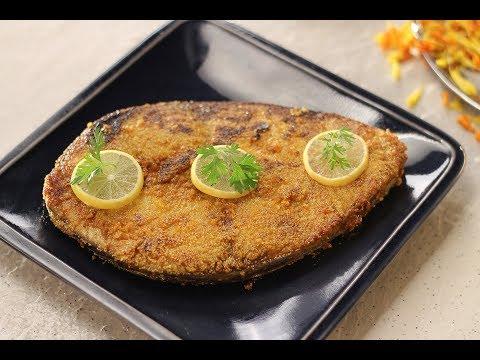 Malvani Fish Fry | Recipes by Newly Weds | Sanjeev Kapoor Khazana