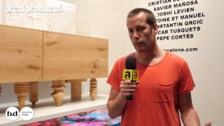BD BARCELONA | Cristian Zuzunaga | Archiproducts Design Selection - Salone del Mobile Milano 2015