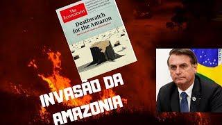 BOLSONARO VAI AO VIVO E FALA SOBRE AMAZÔNIA