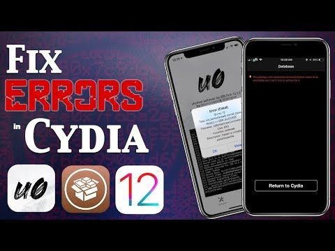Fix Cydia Error Messages, Common Problems & Bootloop on iOS 12 Jailbreak (Unc0ver)