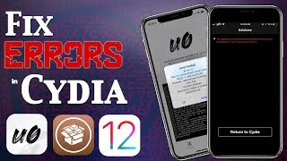 Fix Cydia Error Messages, Common Problems & Bootloop on iOS 12.4 Jailbreak (Unc0ver)