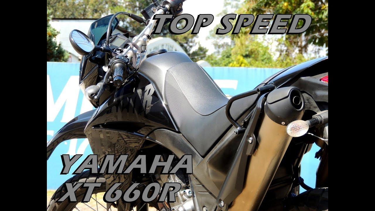 Yamaha Xt Top Speed