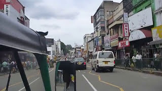 Sri Lanka,ශ්‍රී ලංකා,Ceylon, Kandy : Tuk Tuk ride through City Center