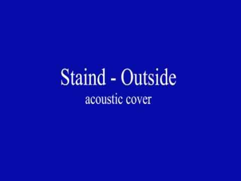 Staind Outside Acoustic Cover No Video Youtube