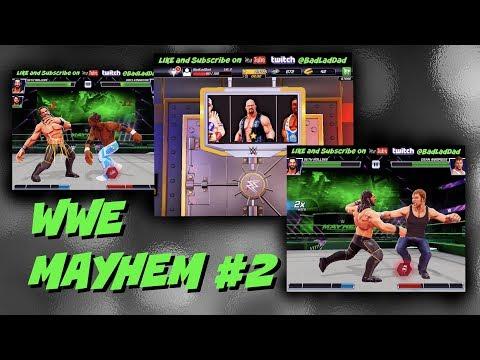 WWE Mayhem Episode #2 : First Free SuperStar