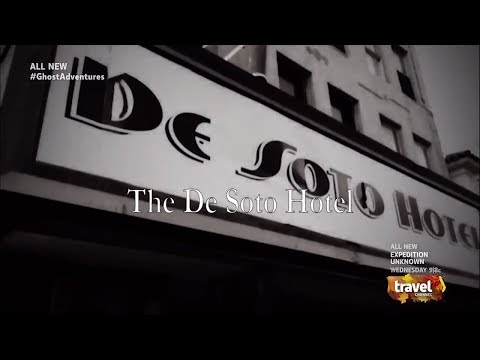 Spook | De Soto Hotel  El Paso - Ghost Adventures Scariest Moments | Poltergeist