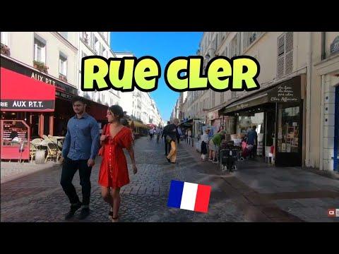 "Walking tour in Paris : ""Rue Cler"" pedestrian street"