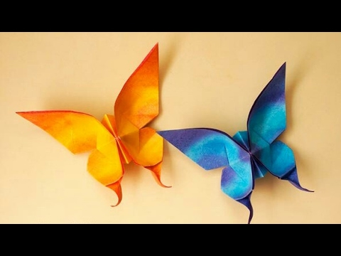 How to make a paper butterfly? esy paper butterfly , paper work, decor, home decoration free